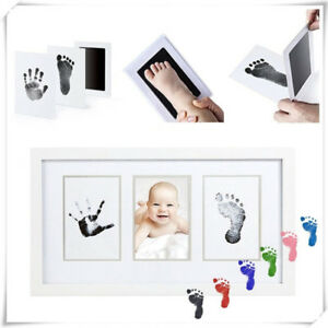 Baby-Newborn-DIY-Imprint-Clean-Touch-Ink-Pad-Photo-Handprint-Footprint-Kits-New