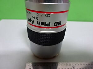 MICROSCOPE-PART-MITUTOYO-JAPAN-APO-OBJECTIVE-BD-PLAN-5X-OPTICS-AS-IS-B-F5-C-11
