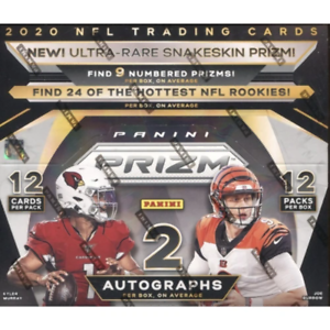 2020 Panini Prizm Football Hobby (3)THREE BOX - PICK YOUR TEAM BREAK--New Case