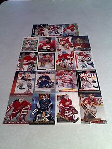 Mike-Vernon-Lot-of-160-cards-77-DIFFERENT-Hockey
