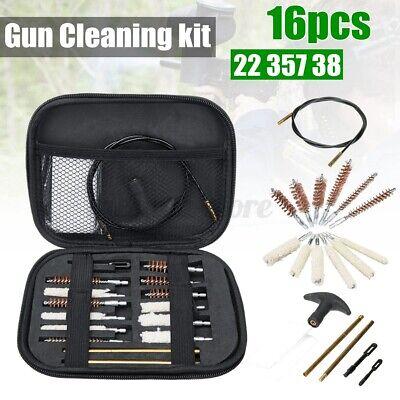 Waffenreinigungsset für .22 38 40 44 45 357 cal 9mm Hand Gun Pistol T4