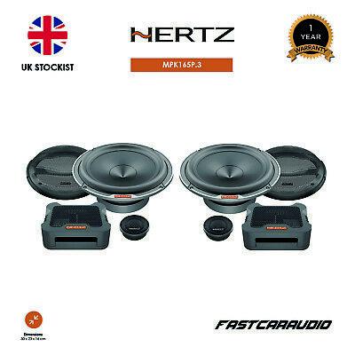 """HERTZ mille MPK165P.3 6.5/""""//16,5 cm 2 way component speakers"""