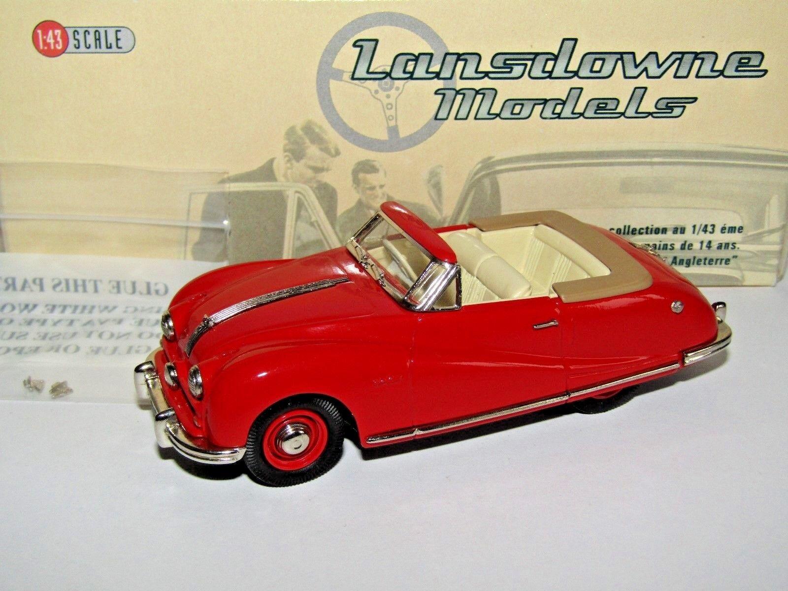 Lansdowne Models 1948 Austin Atlantic Convertible A90 Ensign Rouge 1 43 LDM44