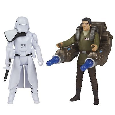 Disney Star Wars First Order /'Snowtrooper /& Poe Dameron/' Action Figure Toy Gift