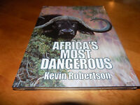 Africa's Most Dangerous Safari Hunt Cape Buffalo Africa Big-game Hunter Book