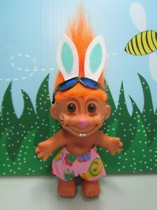 "5/"" Russ Troll Doll BUNNY NEW IN ORIGINAL BAG EASTER WACKY WABBIT RABBIT"