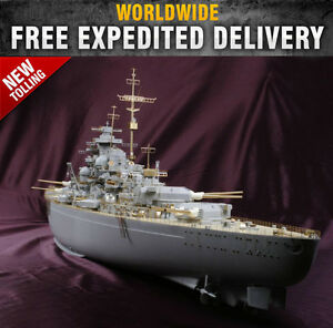 New 1/200 BISMARCK Detail-Up Value Pack  for Trumpeter #MD20003
