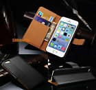 iPhone 6 7 5 SE Case For Apple Wallet Leather Genuine iPhone 6 Plus Cover