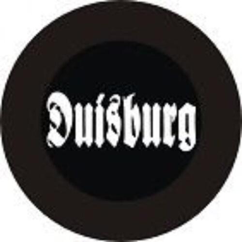 Button Duisburg passend für alle Fussballfans hools
