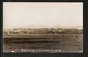 Pittsford-Vermont-VT-c1910-RPPC-Birdseye-View-of-Town