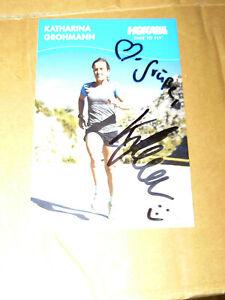 Autogrammkarte, - Sport, - Triathlon,- Katharina Grohmann