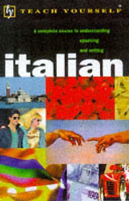Very Good, Teach Yourself Italian (TYL), Vellaccio, Lydia, Elston, Maurice, Book