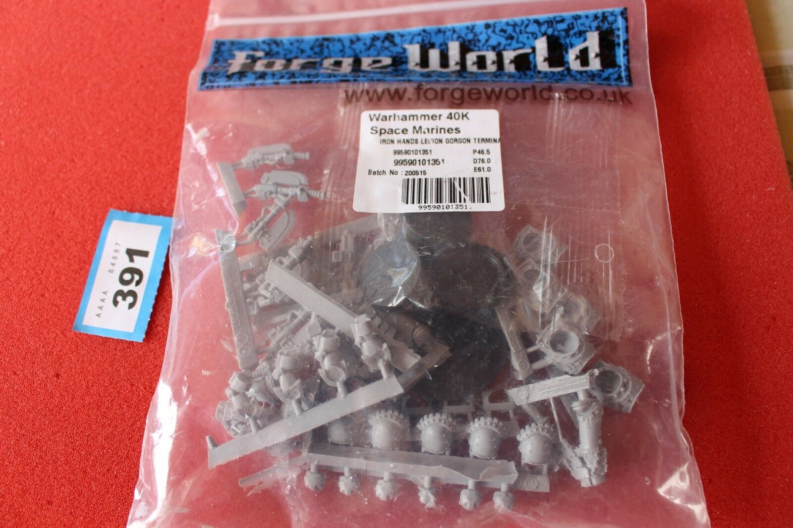 Games Workshop Warhammer 40k Forgeworld Iron Hands Legion Gorgon Terminators New