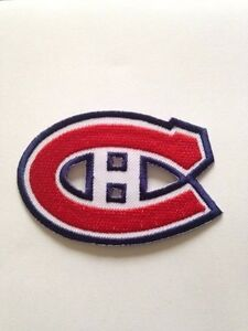more photos a8082 ba5c5 Montreal Canadiens NHL Jersey Patch Centre Bell Iron On Sew Shirt Bag Pre  Order