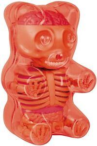 Fame-Master-Small-Gummi-Bear-CLEAR-RED-Articolo-Da-Collezione