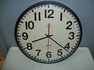 Class Room Idl Sweep Second Hand Clock 13 Quot Number Face