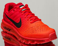 promo code fbfe8 1ab29 ... Nike Air Max 2017 men running run sneakers NEW bright crimson 849559-602  ...