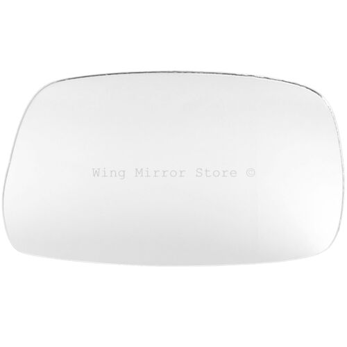 Right Driver Side WING DOOR MIRROR GLASS For Toyota Prius 1997-2003 Stick On