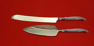 Flair-by-1847-Rogers-Plate-Silverplate-HHWS-Wedding-Cake-Set-2pc-Custom