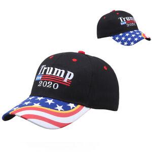 New Trump 2020 Cap Camouflage USA Flag Baseball Caps Snapback Hats EmbroideriPDO