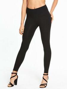 *new Plus Size Tummy Control High Waist Curve Leggings Stretch Crepe Made In Uk* HöChste Bequemlichkeit
