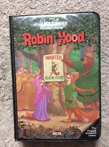Walt Disney Productions Robin Hood Beta Movie Tape 228bs Ebay