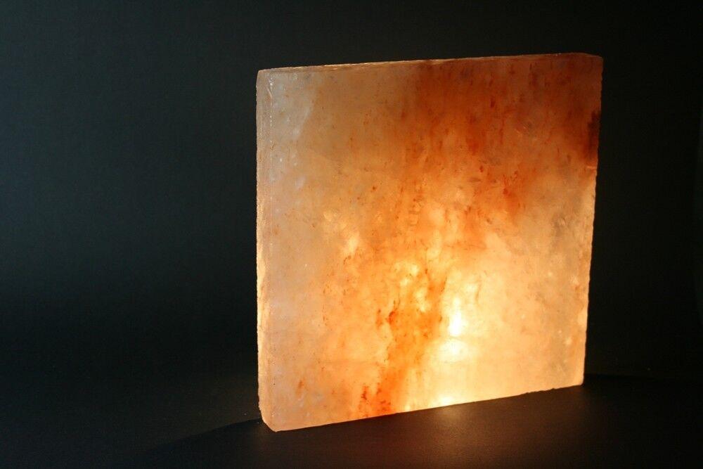 25x (1qm) Salzziegel Salzfliese 20x 20x 2,5 cm  Saunasalzbaustein Himalaya