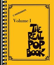The Real Pop Book Volume 1 Sheet Music C Instruments Real Book NEW 000118324