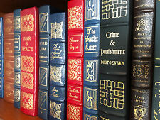 100 Greatest Books Ever Written - Easton Press - Complete Set - Ships Free!