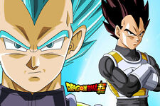 Dragon Ball Super Poster Vegeta Blue and Regular 12in x 18in Free Shipping