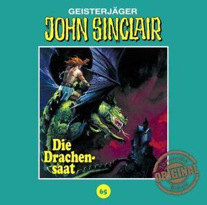 JOHN-SINCLAIR-TONSTUDIO-BRAUN-FOLGE-65-DIE-DRACHENSAAT-CD-NEW
