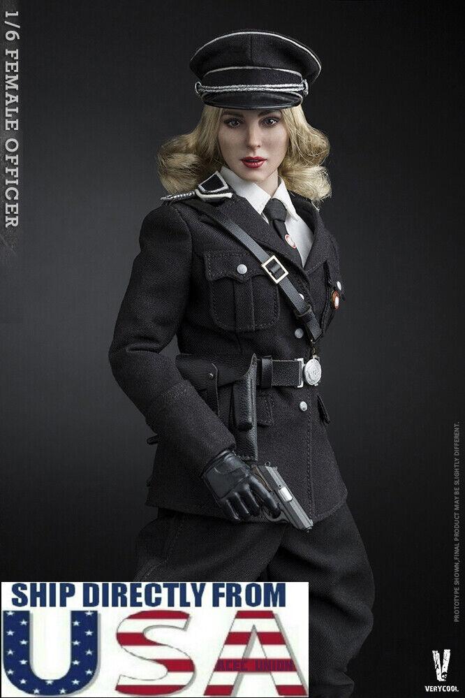VERYCOOL 1 6 scale Female German Military Officer Figure Full Set U.S.A.