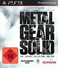 Metal Gear Solid: The Legacy Collection (Sony PlayStation 3, 2013, DVD-Box)