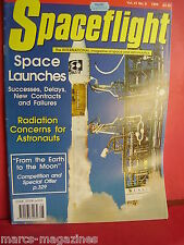 SPACEFLIGHT AUGUST 1999 NEIL ARMSTRONG VIKING 13 PHYSX DELTA CAM GRAB SATELLITE