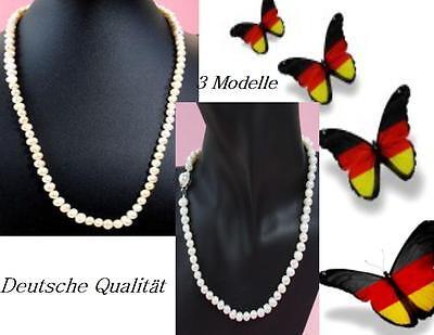 Halsketten & Anhänger Perlen Süsswasser Perlenkette Kette Halskette Perlen Süßwasser Zuchtperlener 45-60-120
