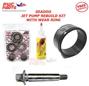 SEADOO Jet Pump Rebuild Kit Wear Anello Impeller Shaft Oil 02-05 GTI/LE 720