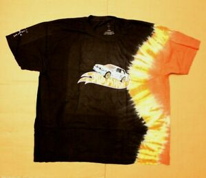 Travis Scott X Cactus Jack Men S Hot Wheels Tie Dye T Shirt Ab3 Black Size 2xl Ebay