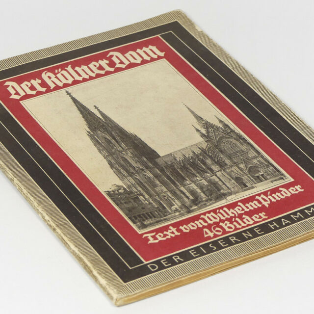German Cologne Cathedral Book 1930s w/46 photos Koln Dom Architecture Reliquary
