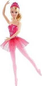 Barbie Fairytale Ballerina Doll Pink 716987168281