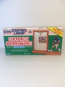 Starting Lineup Headline Collection Barry Sanders Lions Sealed 1991