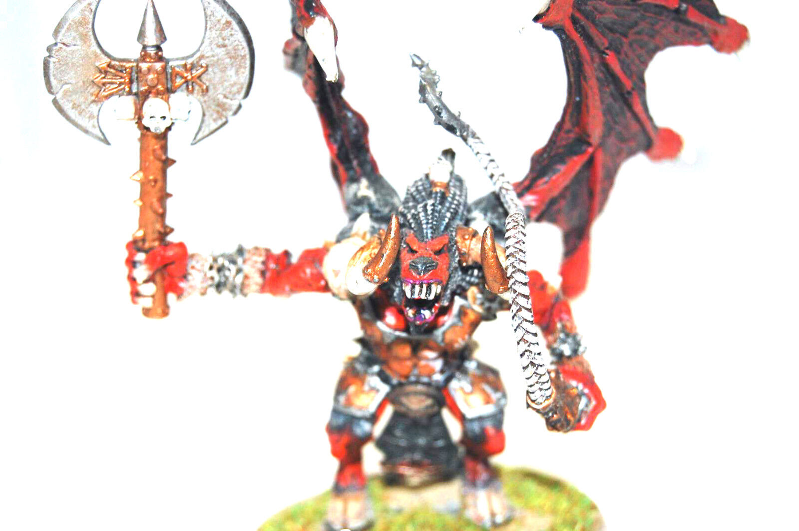 Warhammer 40k AoS Daemons of Chaos army well painted Greater Daemon of Khorne