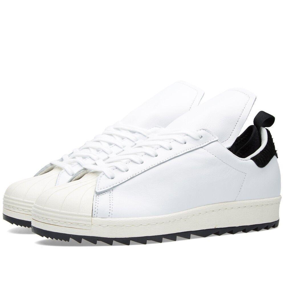 Adidas taglia originali superstar anni '80 rimasterizzato scarpe da uomo taglia Adidas 11 bianco ci s82510 f54653