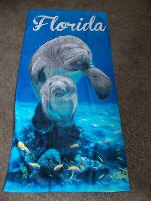 1288379923 CafePress Baby Manatee Beach Towel