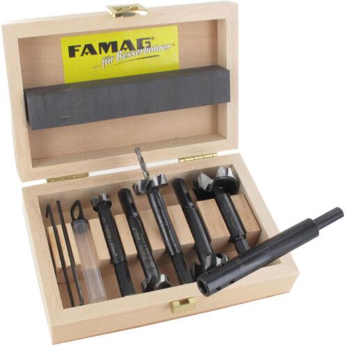 FAMAG 1624.506 Staketen-Bormax® 6-teiliger Satz im Holzkasten 15-20-25-30-35 mm