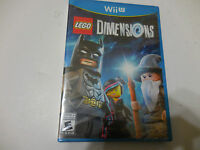 Lego Dimensions: Game Only (nintendo Wii U, 2015) Eo