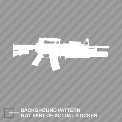 M4 W M203 Grenade Launcher Sticker Die Cut Decal EBay