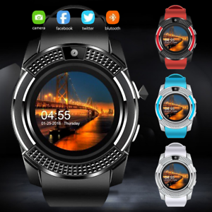 Details about V8 Smart Watch&SIM Phone&Bluetooth Camera& GPS For Samsung  iphone iOS Android UK