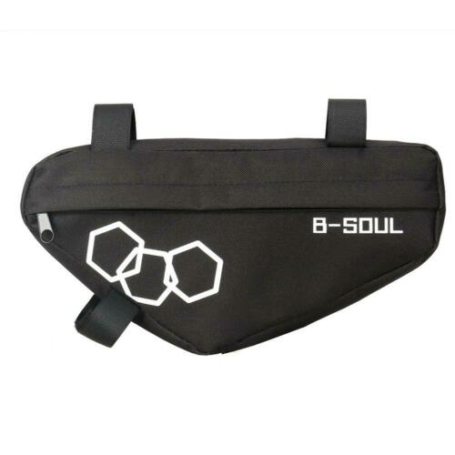 B-Soul Cycling MTB Mountain Bicycle Front Tube Saddle Frame Triangle Bicycle Bag