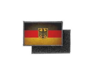 """German//Allemand//eagle drapeau 3 1//2/"""" Iron On Patch Drapeau Allemand"""