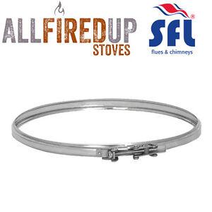 Rain Cap SFL Sflue Stainless Twin Wall Insulated Flue Pipe Twist Lock